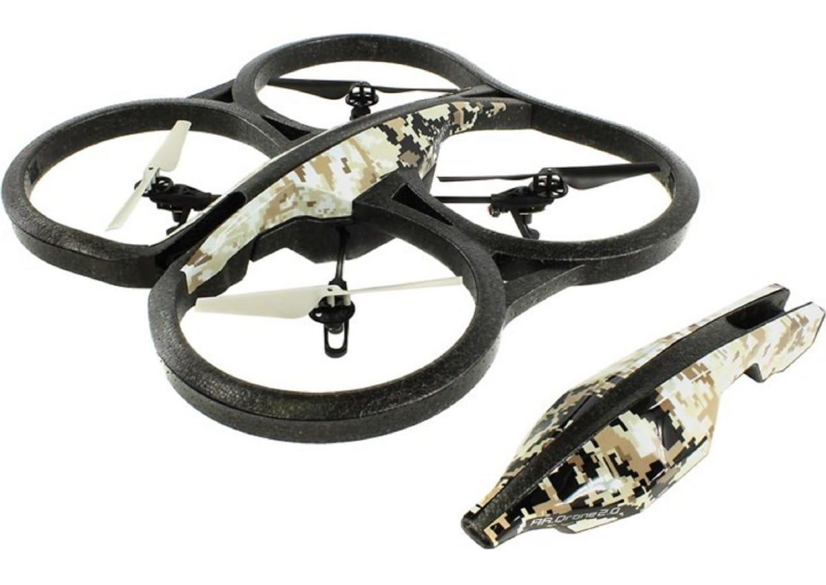 Радиоуправляемый квадрокоптер Parrot AR Drone 2.0 Elite Edition - пустынный камуфляж