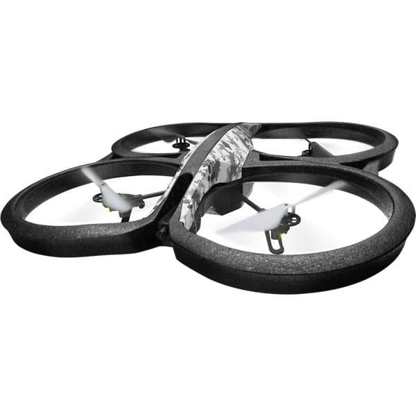 Радиоуправляемый квадрокоптер Parrot AR Drone - снежный камуфляж