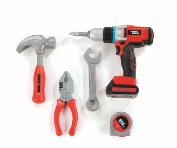 Купить Набор инструментов в сумке B and D с дрелью (Smoby) в интернет магазине игрушек и детских товаров