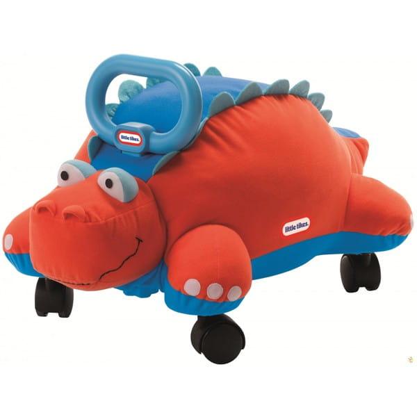 Купить Мягкая каталка Little Tikes Динозавр в интернет магазине игрушек и детских товаров