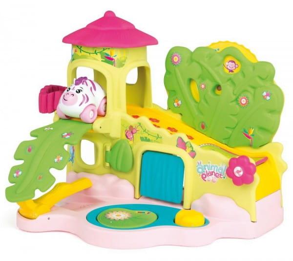 Музыкальная игрушка Smoby Animal Planet Домик в джунглях