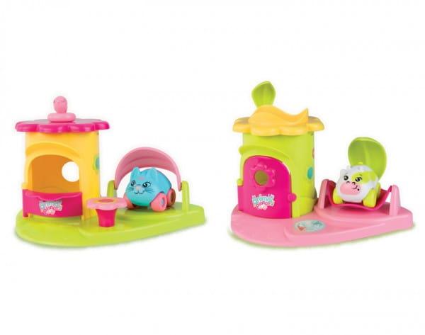 Игровой набор Smoby Animal Planet Машинка с домиком