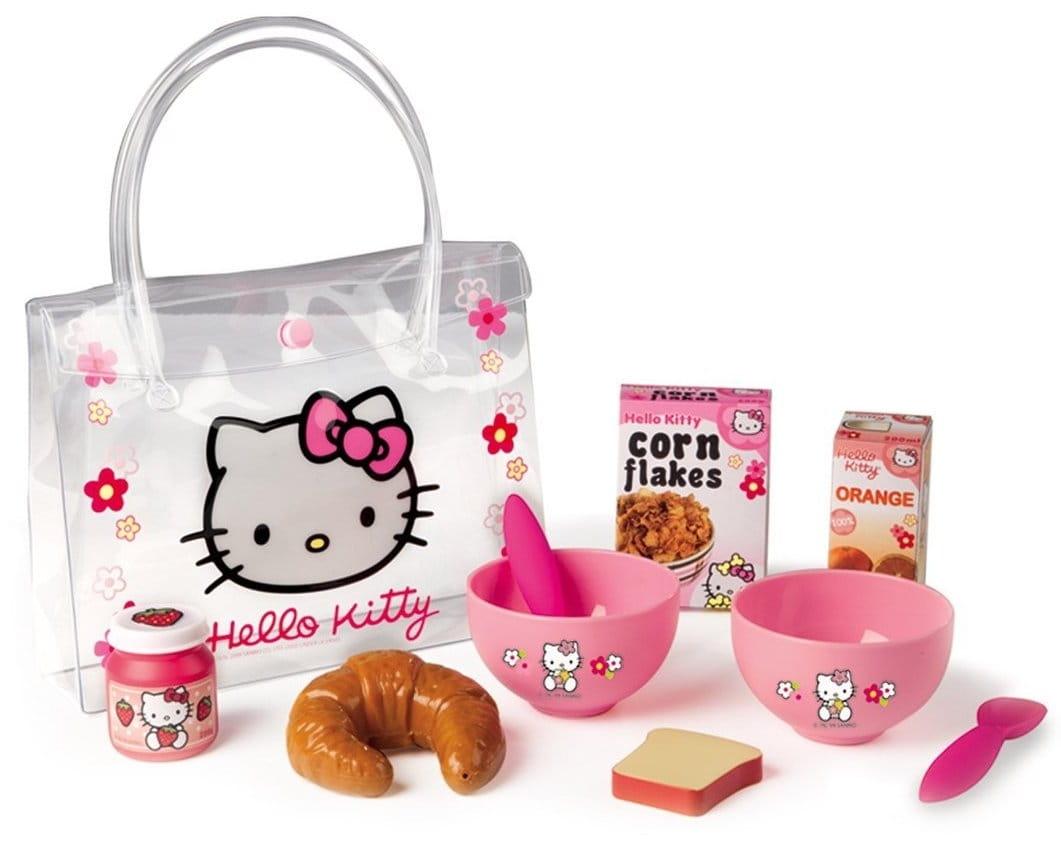 Набор для завтрака в сумочке Hello Kitty (Smoby)