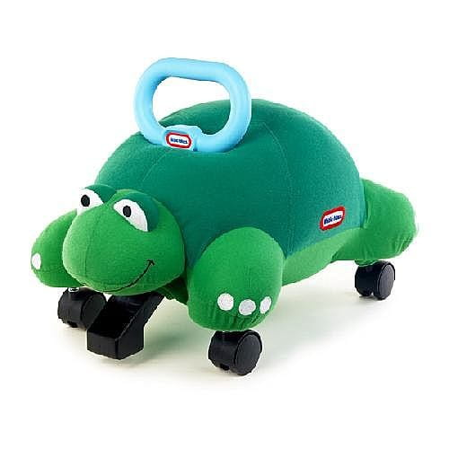 Купить Мягкая каталка Little Tikes Черепаха в интернет магазине игрушек и детских товаров