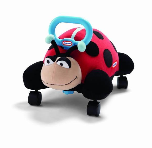 Купить Мягкая каталка Little Tikes Божья коровка в интернет магазине игрушек и детских товаров