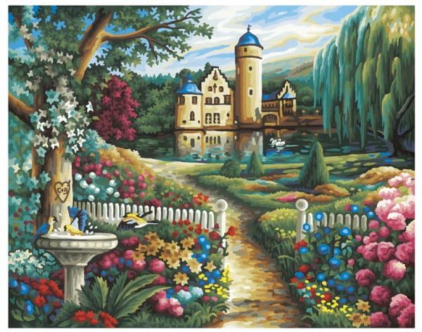 Раскраска по номерам Schipper 9130391 Летний замок