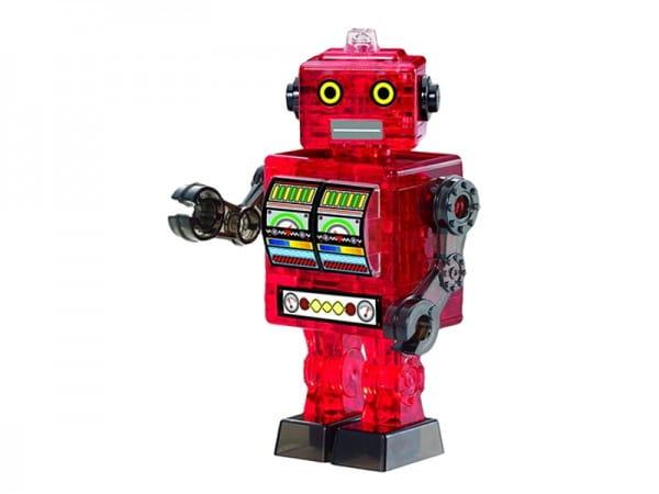 Головоломка Crystal puzzle 90151 Красный робот