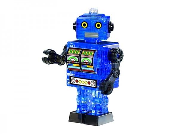Головоломка Crystal puzzle Синий робот