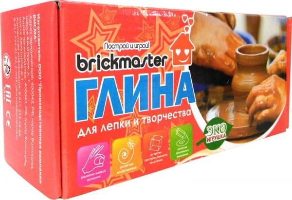 Набор для творчества Brickmaster Глина - 1000 г