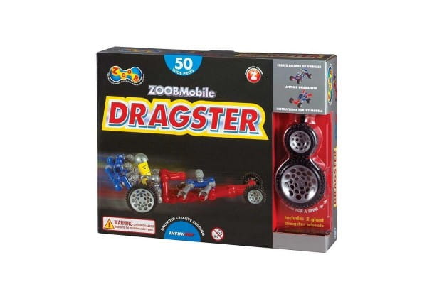 Конструктор Zoob 12054 Dragster