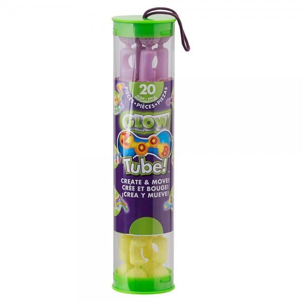 Конструктор Zoob 11023 Tube 20 Glow Pastel