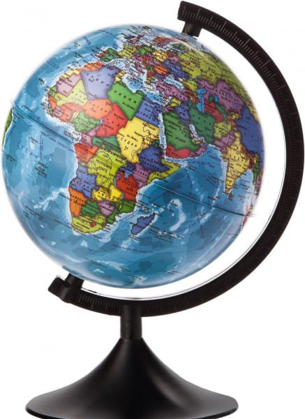 Глобус Земли Globen политический Классик