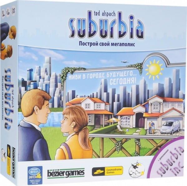 Настольная игра Cosmodrome Games 52001 Suburbia