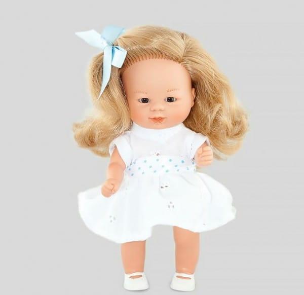 Кукла Carmen Gonzalez 12238 Бебетин - 21 см (в летнем платье в мелкий цветочек)