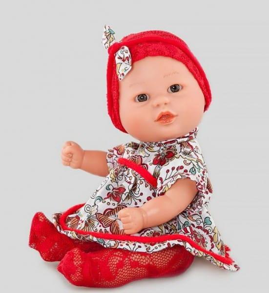 Кукла Carmen Gonzalez 12671 Бебетин - 21 см (в ярком платье и красной шапочке)