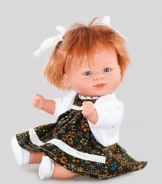 Кукла Carmen Gonzalez 12737 Бебетин - 21 см (в платье и теплом светлом жакете)