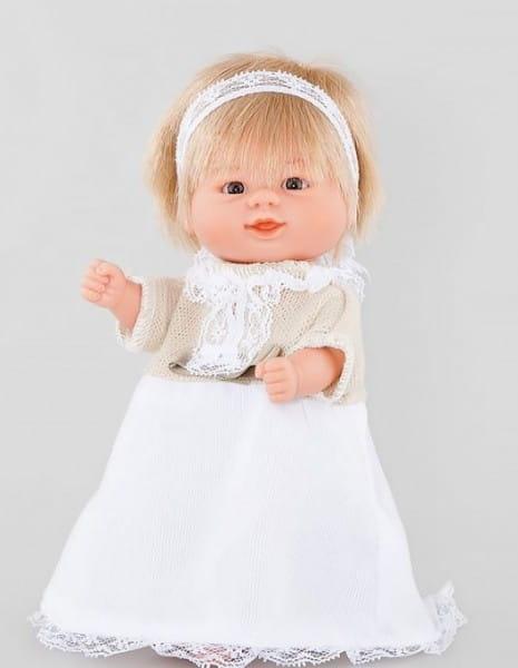 Кукла Carmen Gonzalez 12744 Бебетин - 21 см (в кремовой блузке и длинной юбочке)