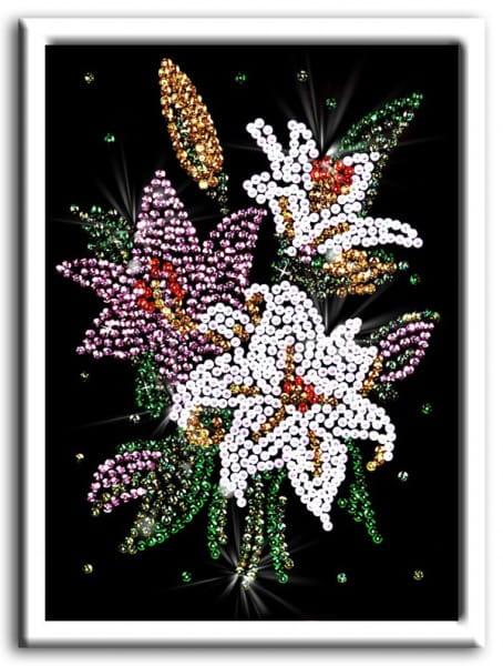 Мозаика из пайеток Волшебная мастерская 023 Лилии