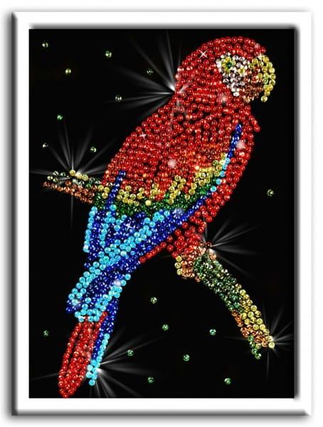 Мозаика из пайеток Волшебная мастерская 027 Попугай какаду