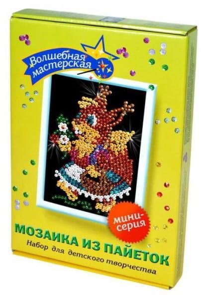 Мозаика из пайеток Волшебная мастерская М 013 Белочка