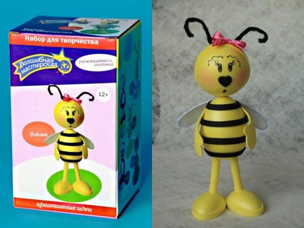 Набор для рукоделия Волшебная мастерская к009 Создай куклу - Пчелка