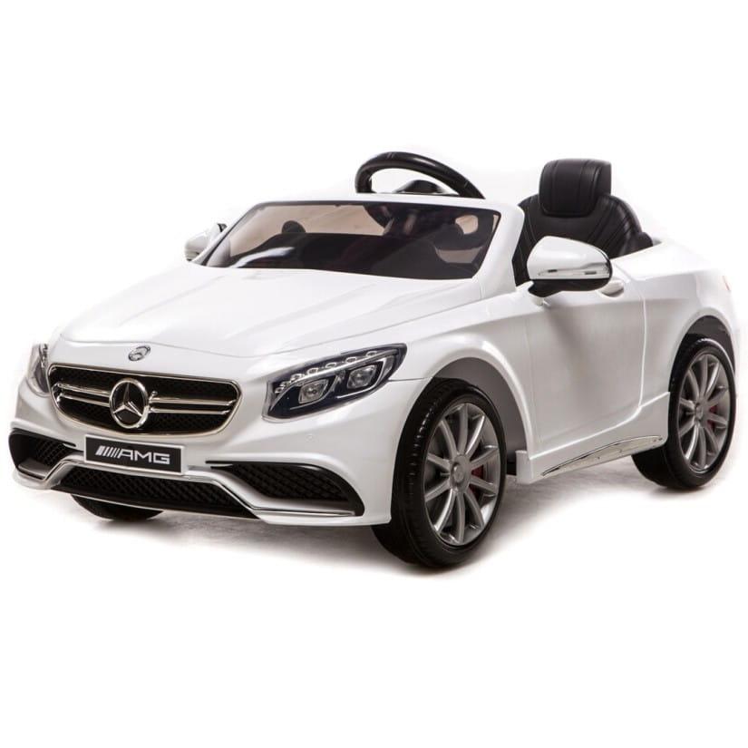 Электромобиль River Toys Mercedes-Benz S63 AMG VIP (с резиновыми колесами)