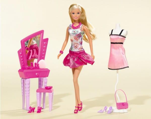 Кукла Steffi Штеффи с зеркалом и аксессуарами (Simba)