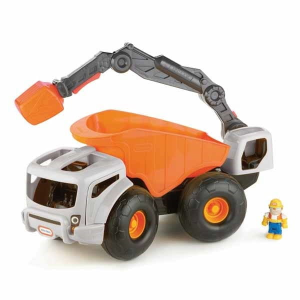 Купить Экскаватор Little Tikes (оранжевый) в интернет магазине игрушек и детских товаров