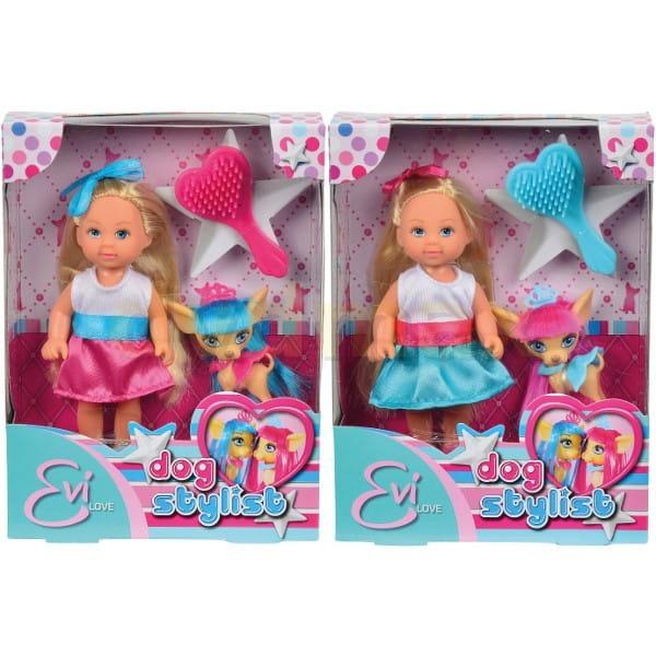 Кукла Evi Еви со стильной собачкой (Simba)