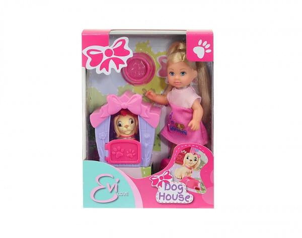 Кукла Evi Еви с собачкой в домике (Simba)