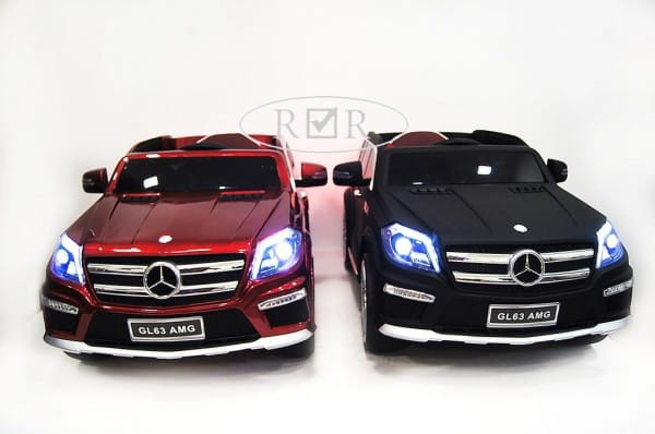 Электромобиль River Toys Mercedes-Benz GL63 (лицензионная модель)