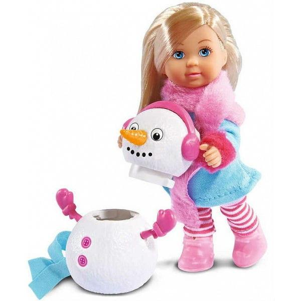 Кукла Evi Еви и снеговик (Simba)