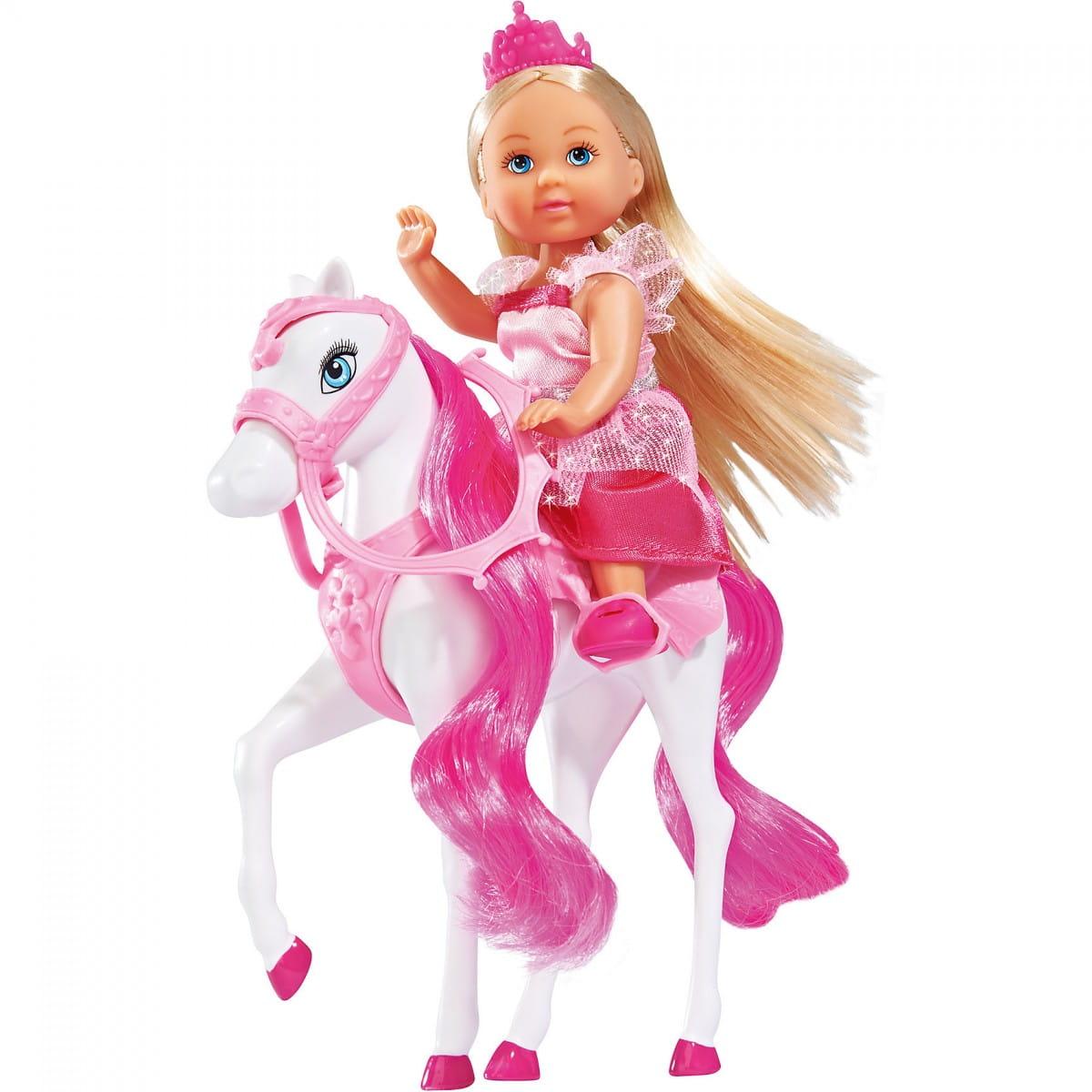 Кукла Evi Еви на лошади (SIMBA)