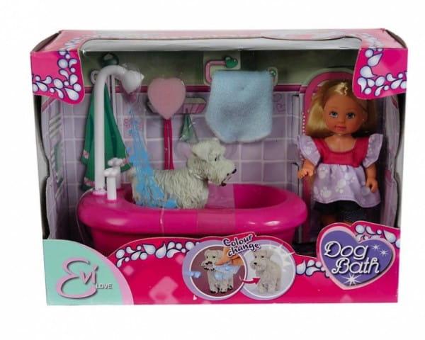 Кукла Evi Еви моет собачку (Simba)
