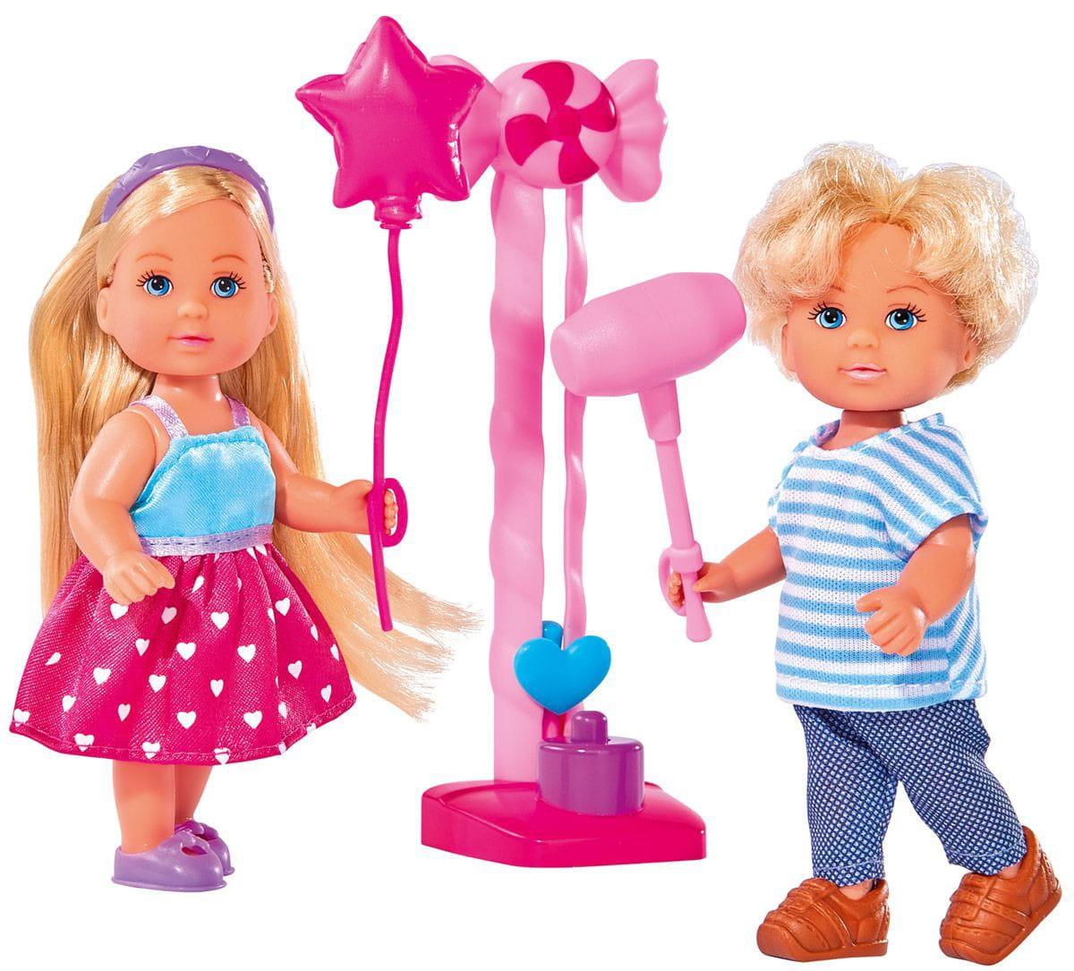 Кукла Evi Еви и Тимми на аттракционах (SIMBA)