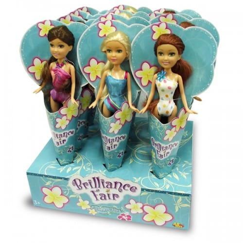 Купить Кукла Brilliance Fair в купальном костюме (Funville) в интернет магазине игрушек и детских товаров