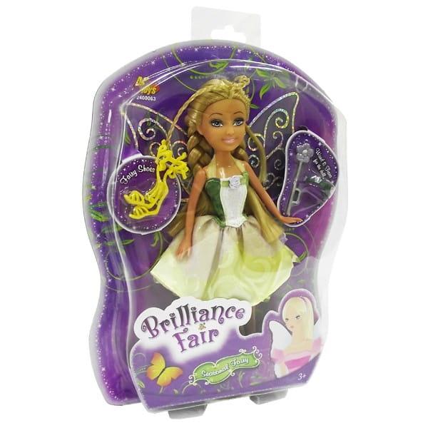 Кукла Brilliance Fair с диадемой и волшебной палочкой (Funville)