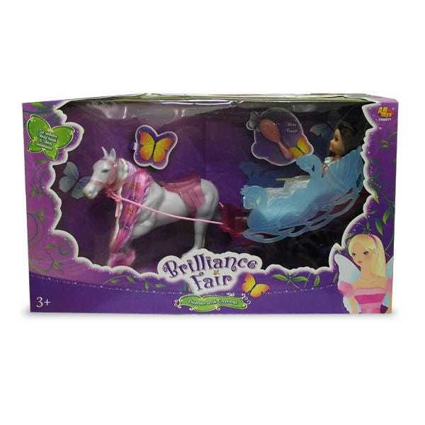 Кукла Brilliance Fair Принцесса с каретой (Funville)