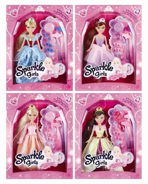Кукла Brilliance Fair Принцесса с заколками и расческой (Funville)