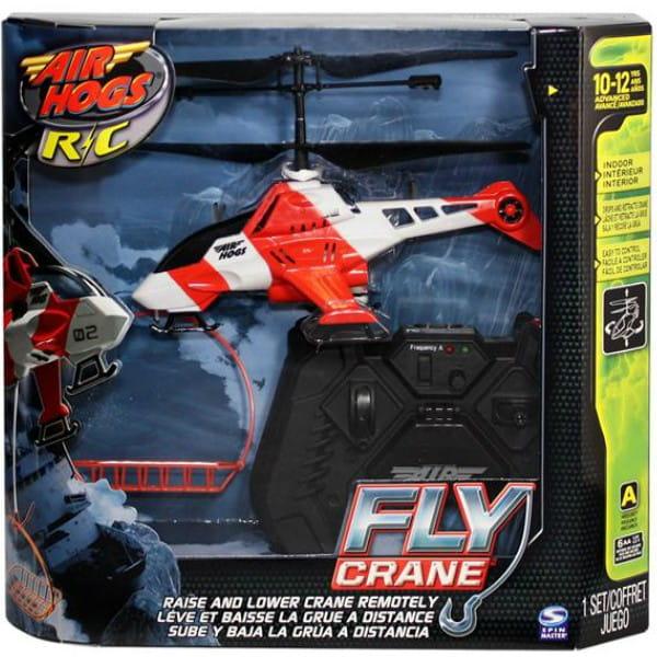 Купить Радиоуправляемая игрушка Air Hogs Fly Crane Вертолет-подъемный кран в интернет магазине игрушек и детских товаров