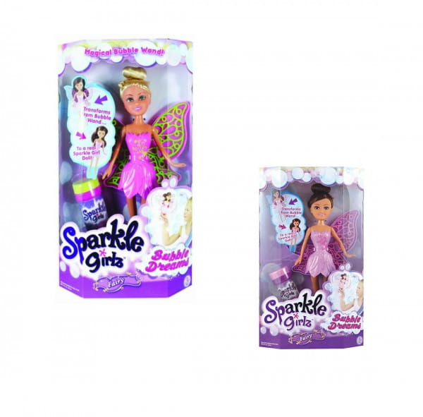 Кукла Sparkle Girlz Фея с мыльными пузырями (Funville)