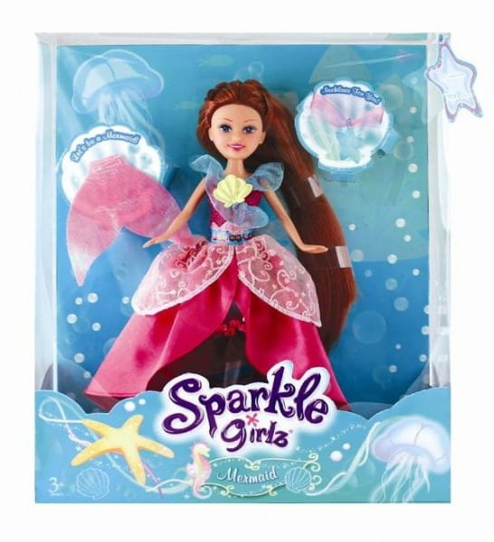 Кукла Brilliance Fair Русалка с подвеской (Funville)