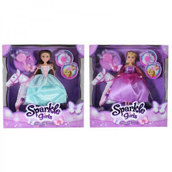 Кукла Sparkle Girlz Принцесса с лошадкой (Funville)