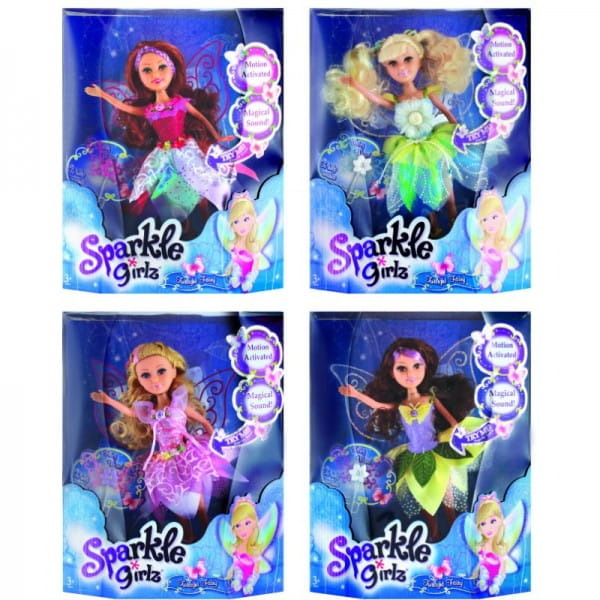 Купить Кукла Brilliance Fair Фея со звуковыми эффектами (Funville) в интернет магазине игрушек и детских товаров