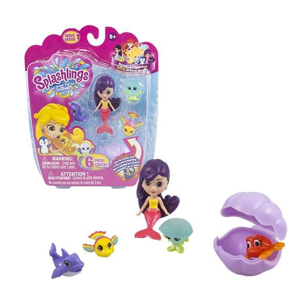 Игровой набор Splashlings Сплэшлингс Русалка и питомцы (TPF Toys)