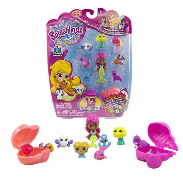 Игровой набор Splashlings Сплэшлингс Русалка и питомцы 2 (TPF Toys)