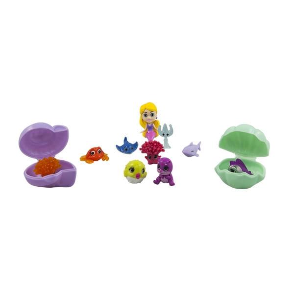 Игровой набор Splashlings 297597 Сплэшлингс Русалка и питомцы 2 (TPF Toys)