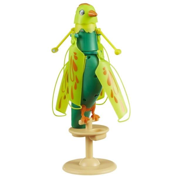 Интерактивная летающая птичка Zippi Pets - зеленая