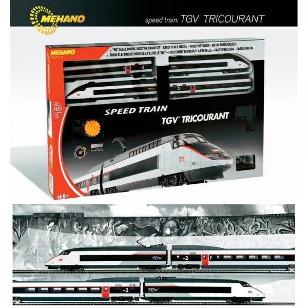 Железная дорога Mehano T110 TGV Tricourant Электропоезд SNCF