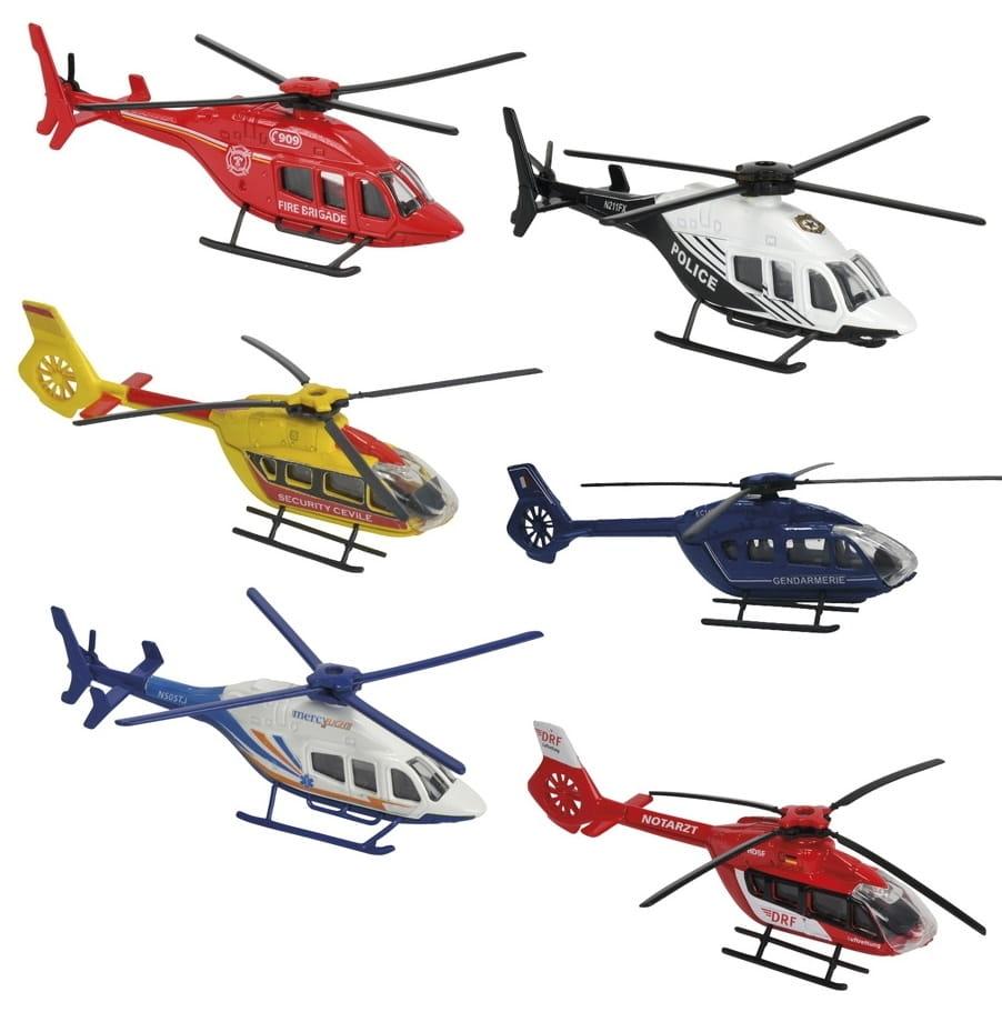 Игровой набор MAJORETTE Коллекция вертолетов